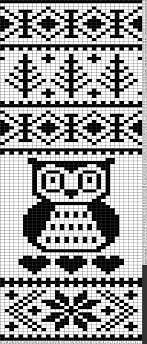 Fair Isle Knitting Charts Tricksy Knitter Charts Fair Isle Big Owl Hearts Pattern
