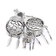 Dream Catcher Tunnels Stainless Steel Dream Catcher Tunnels All You Need Is Ears 3