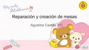 Calaméo - Agustina Castillo Encina Preparación De Una Presentación