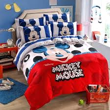 mickey mouse bed set twin mickey mouse duvet cover set twin single size kids birthday gift