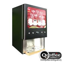 Instant Coffee Vending Machine Awesome 48 Flavors Instant Coffee Machine QCoffee Vending Instant Coffee