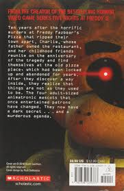 Amazon Com The Silver Eyes Five Nights At Freddy S 1