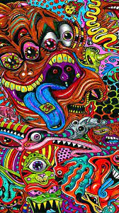 Trippy Psychedelic Astronaut Wallpaper ...