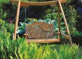 Kyokusen Swing Seat in Curved Oak