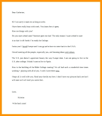 Friendly Letter Format Printable Friendly Letter Format Template Sample Writing Free 8 A