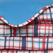 Tartan quilt in cotton percale - coincasa & Tartan quilt in cotton percale Adamdwight.com