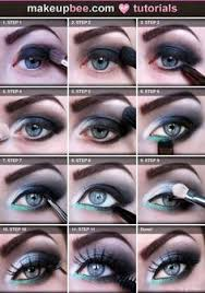 20 blue eye makeup tutorials for beginners 8 fashionable night out