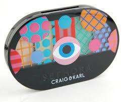 sephora x craig karl colorful 5 eyeshadow palette review