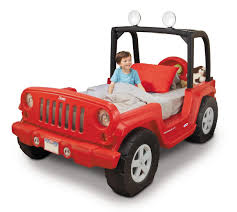 Little Tikes Jeep Wrangler Toddler to Twin Bed Toys