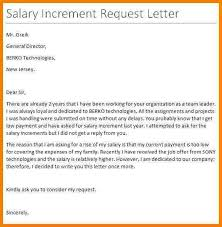 Letter To Ask For Raise 15 Salary Raise Letters Proposal Review