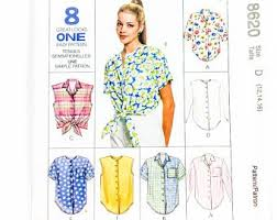 90s Pattern Shirts Unique 48s Pattern Shirts Etsy