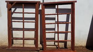 wooden window frames individually or bundle