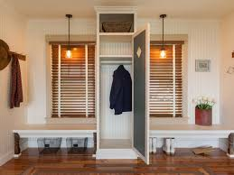 Behind The Door Coat Rack Mudroom Storage Ideas HGTV 89