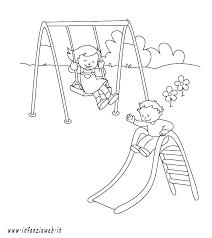 10 Disegno Parco Giochi Da Colorare Img