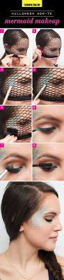 Easy Halloween Makeup Tutorials - Halloween Makeup Ideas With Products You  Already Have | Mermaids in Marshall | Pinterest | Easy halloween makeup, ...