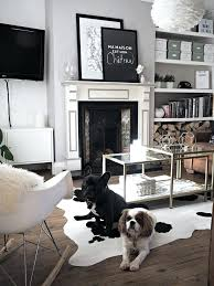 impressing the best cowhide rug decor ideas on at cow skin rug miraculous living rooms adorned