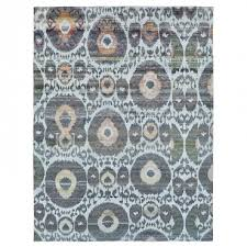 abstract ikat rug 7 11 x 10 4