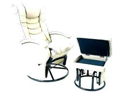 small glider rocker for baby room chair ottoman with home white flying leather