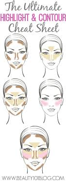 learn how to highlight and contour for the flawless face image via beauty 101