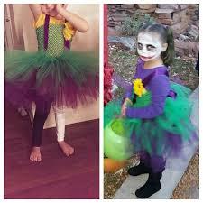 diy joker costume girl