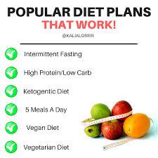 Popular Diet Plans That Work Album On Imgur