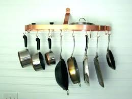 pot and pan wall rack mount full size of mounted pots pans hanging ikea