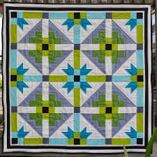 Bright Geometric Baby Quilt | Quilts We Love | Pinterest | Babies ... & Bright Geometric Baby Quilt Adamdwight.com