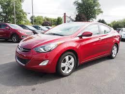 hyundai elantra 2013 red. Contemporary Red 2013 Hyundai Elantra GLS WPZEV Sedan For Red T