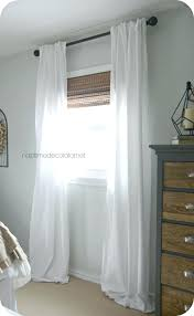 Black And White Bedroom Curtains Brilliant Sheer White Bedroom ...