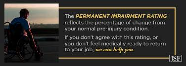 Permanent Partial Disability Chart Mn What Is A Permanent Impairment Rating The Law Offices Of