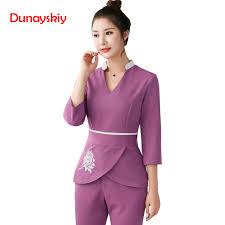 <b>Women Workwear</b> 2pcs Sets <b>Female</b> Hospital Nurse <b>Uniforms</b> ...