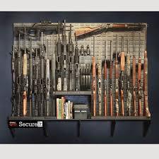 home wall storage. Gun Wall / Vault Armory Kit #4 Home Storage