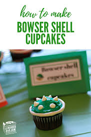 Super mario cupcake toppers, super mario bros cupcake picks, super mario bros cake topper, super mario cake pop topper, mario and luigi. Super Mario Bowser Shell Cupcakes For Your Next Video Game Themed Birthday Part Super Mario Bros Birthday Party Mario Birthday Party Super Mario Birthday Party