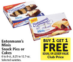Save 50 On New Entenmanns Minis Baked Goods At Safeway Super