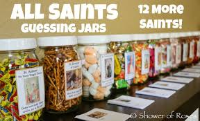 Shower Of Roses 12 More Saint Themed Guessing Jars