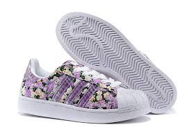 adidas shoes superstar purple. women\u0027s adidas originals superstar 2 print casual shoes purple