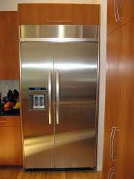 Exellent Kitchenaid Superba 42 Refrigerator Stunning Built In Refrigerators Pictures Decorating And Decor
