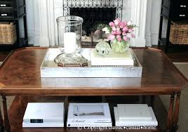 Decorating With Trays On Coffee Tables Small Coffee Table Tray Large Size Of Coffee Table Tray Ideas 29