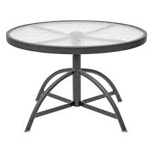 elegant round glass patio table homecrest glass top 30 in round adjule height patio table residence design images