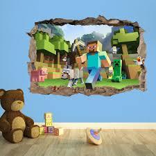 Minecraft Wallpaper For Bedrooms Minecraft Wallpaper Stickers Decals Minecraftbedroomcom