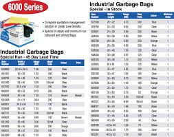 Ralston Industrial Garbage Bags 6000 Series Br