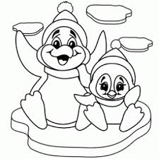 Small Picture Penguins Coloring Page Free Christmas Recipes Coloring Pages