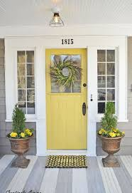white front door yellow house. Lovely White Front Door Yellow House With Best 25 Doors Ideas On Pinterest N