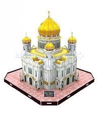 <b>CubicFun</b> 3D пазл <b>Храм Христа</b> Спасителя Россия - Акушерство.Ru