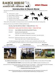 Forms — Ranch Horse Association Of Michigan