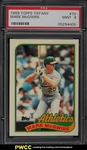 Check spelling or type a new query. Auction Prices Realized Baseball Cards 1989 Topps Tiffany Mark Mcgwire