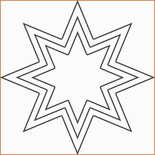 Bemerkenswert Stern Vorlage Ausschneiden 375 Malvorlage