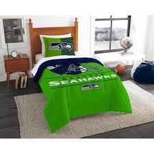 2 piece draft multi twin comforter set