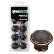Bronze Cabinet Knobs Cabinet Hardware The Home Depot