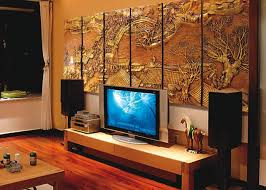 wall decoration artistic japanese interior design with 3d wall with regard to newest japanese wall on wall art panels interior with showing photos of japanese wall art panels view 9 of 25 photos